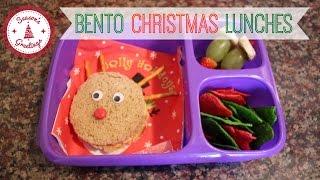 Bento Christmas Lunch Ideas!