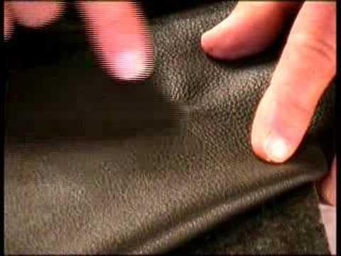 réparation du cuir - 1 - youtube