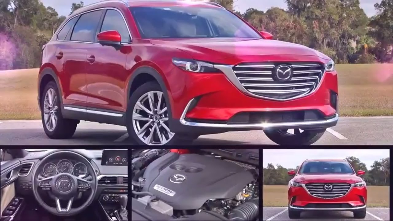 look this 2017 mazda cx 9 interior and exterior reviews youtube. Black Bedroom Furniture Sets. Home Design Ideas