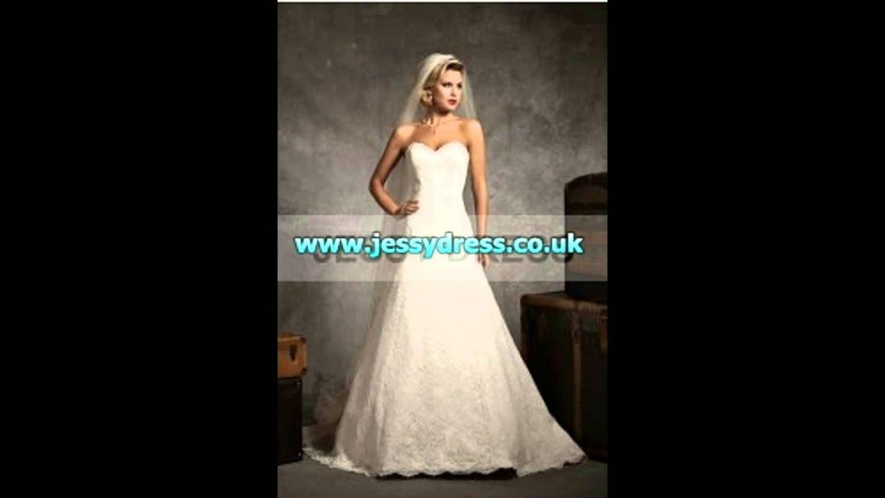 Jessydresscouk Cheap Lace Mermaid Wedding Dresses UK Sale At JessyDress
