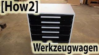 how2 werkstattwagen schubladenschrank selber bauen. Black Bedroom Furniture Sets. Home Design Ideas