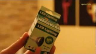 test bombillas led gu10 3x3w en comparacin a una halgena de 50w led bulb test