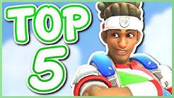 Overwatch - TOP 5 BEST LUCIO SKINS