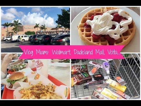 VLOG MIAMI : Walmart, Dadeland Mall, Volta para Casa...