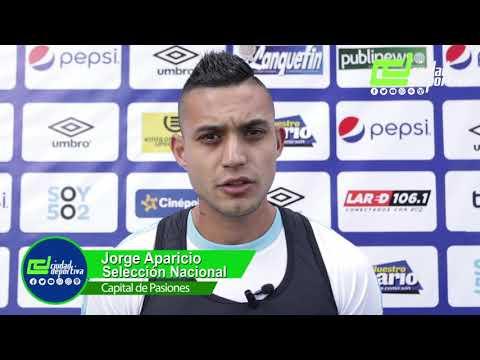 Download Declaraciones de Jorge Aparicio jugador de la Selección Nacional de Guatemala.