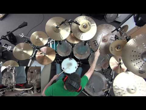 JOE SATRIANI - THE MEANING OF LOVE - DRUM COVER VIDEO BY TOM KLOEHR