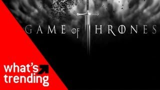 Game of Thrones Song Parodies Plus the Top YouTube Videos for 3/26/13