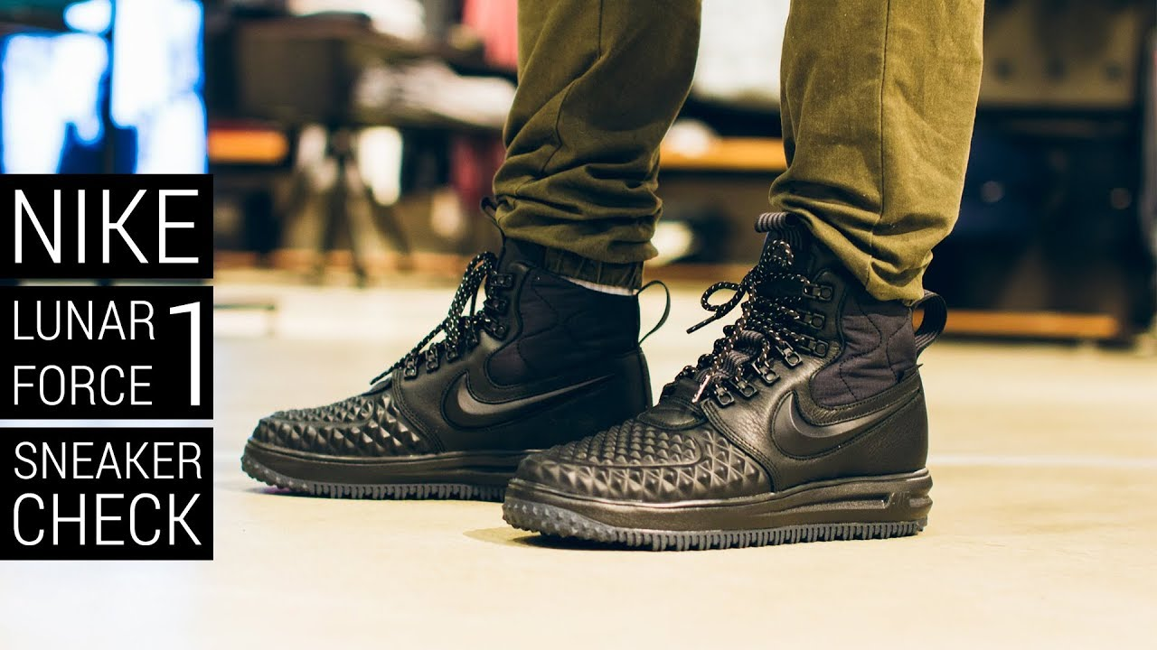 d31a1c791b36 Nike Lunar Force 1 Duckboot - Sneaker Check - YouTube