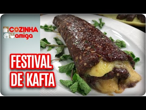 Festival De Kafta - Raquel Novais | Cozinha Amiga (05/03/18)