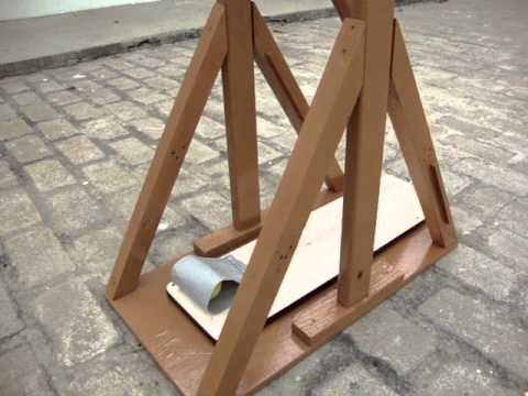 how to build a simple trebuchet