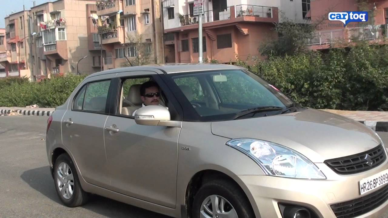 2012 Maruti Suzuki Dzire Video Review And Full Road Test By Cartoq