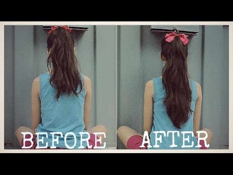 How To: Make Your Hair Look Longer!! (NO EXTENSIONS!)
