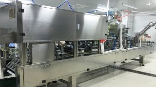 Cups Filling Sealing Machine 8lanes Rice Wine Jelly Milk Food Packaging 米酒灌裝封杯機一出8杯充填機