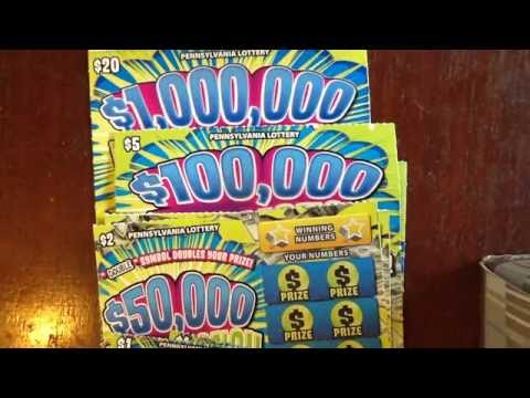 New: Mad Money Tickets, $1,$2,$,5,$20 - PA Lottery