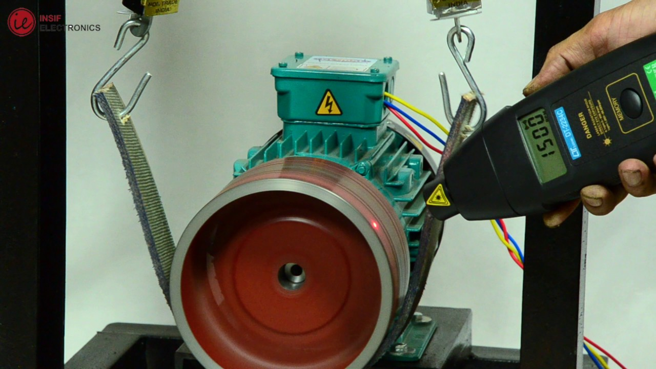 3 Phase Induction Motor Trainer