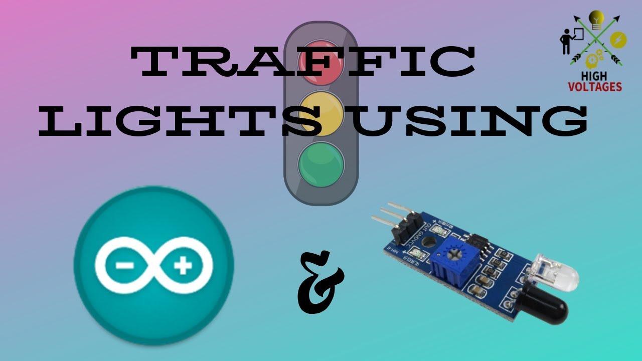 4 Way Traffic Lights Using Arduino Youtube