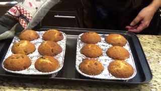 Easy Banana Muffins With Chocolate Chip By Magdi