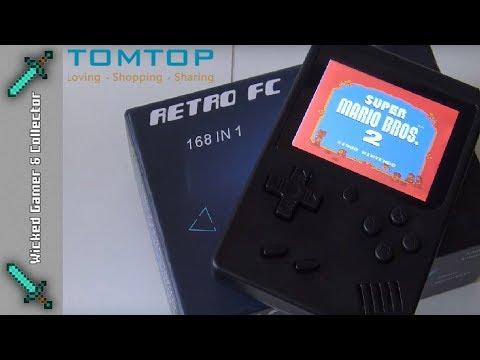 Retro Mini 2  / 8-bit Handheld Retro Game / Handheld  / TomTop.com
