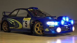 My Custom Replica Subaru Impreza GC8 WRC Prodrive basis chassis Tamiya TT-02.