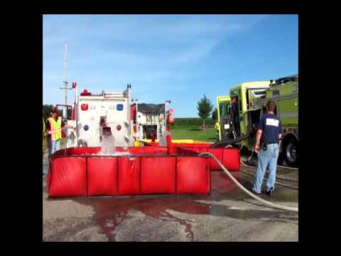 Rural Water Shuttle Demonstration 2013. Dunlap Fire Department
