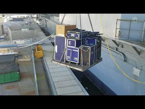 How to Load Equipment into the Intrepid Air and Space Museum