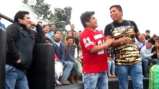 Comicos Ambulantes 2015 : Pestañita y Frejolito JR - Chabuca Granda