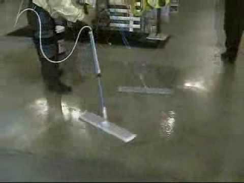 Janilink Finish Job Floor Finish Wax   YouTube