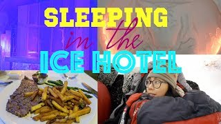 Sleeping in the Ice Hotel in Quebec - Travel with Arianne - Travel Canada - episode #19