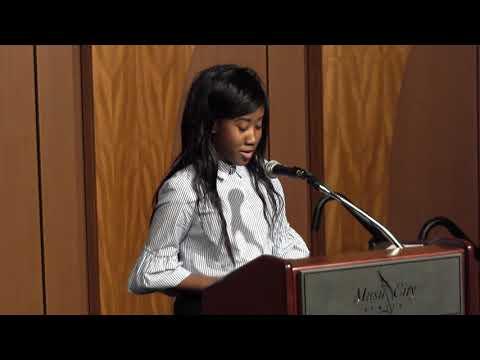 2018 YWCA Spring Breakfast - Girls Inc. Speaker Jaida Kline