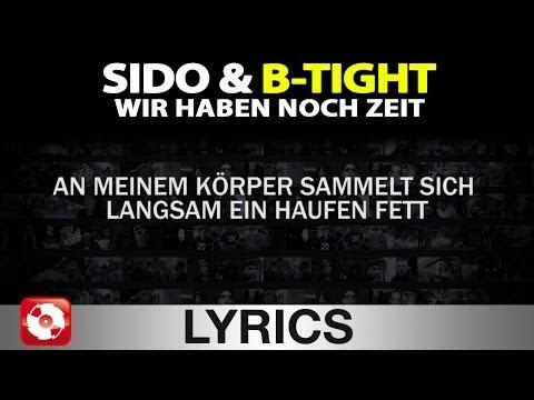 SIDO & B-TIGHT - WIR HABEN NOCH ZEIT AGGROTV LYRICS KARAOKE (OFFICIAL HD VERSION AGGROTV)