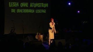Marlene Jaschke bei Lesen ohne Atomstrom 2013
