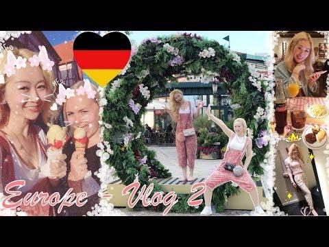 EUROPE 🇪🇺 VLOG 2 - SHOPPING IN GERMANY 🇩🇪 DESIGNER OUTLET NEUMÜNSTER 🛍 + KPOP IN PUBLIC 😱👯♀️