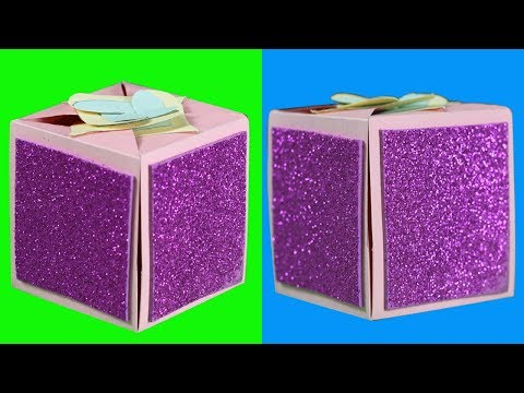 How to Make a Love Box with Paper (Handicrafts) - Diy Paper craft || Eassy Life