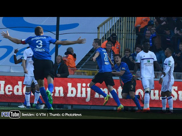 2016-2017 - Jupiler Pro League - 11. Club Brugge - RSC Anderlecht 2-1