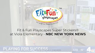Fit and Fun @ Viola Elementary- NBC NEW YORK NEWS Video