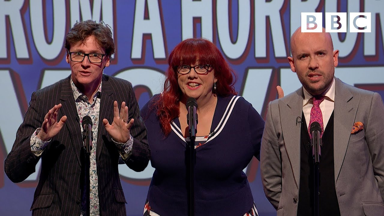 Unlikely lines from a horror movie   Mock The Week - BBC