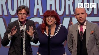 Unlikely lines from a horror movie | Mock The Week - BBC