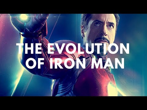Evolution of Iron Man in Movies & TV (19166-2018) with Avengers Infinity War