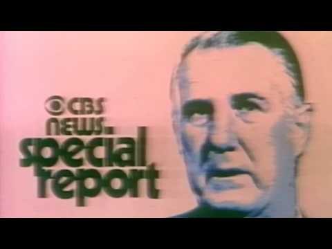 KNXT CBS-2  Vice President Agnew Resigns 1973 Color Eiaj Hd