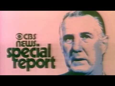 KNXT CBS-2  Vice President Agnew Resigns 1973 Color Eiaj Hd