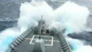 CAPE ST GEORGE CG-71 Rough Seas 2003