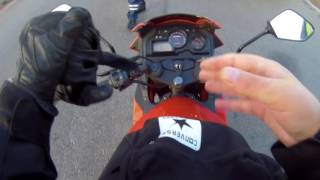 видео Мотоциклы без ПТС (спортинвентарь), штрафы за езду по ДОП, не требуют регистрации и прав!
