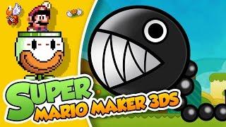 ¡A por los Chomp! | Super Mario Maker 3DS