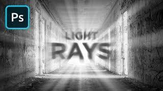 Photoshop'ta GERÇEKÇİ Işık Işınları Oluşturma