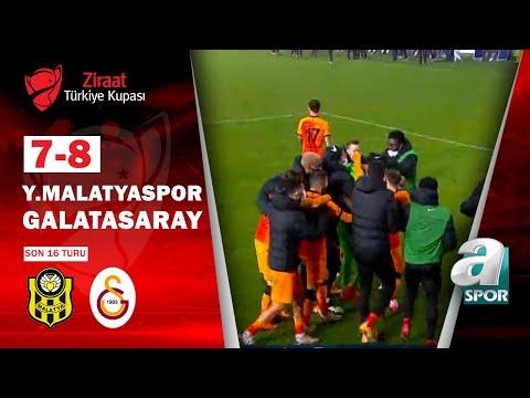 Yeni Malatyaspor 1 (7) - (8) 1 Galatasaray MAÇ ÖZETİ (Ziraat Türkiye Kupası Son 16 Turu)