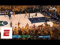 Full final sequence of Thunder-Jazz Game 6: Misses, non-call, and Russell Westbrook's anger | ESPN