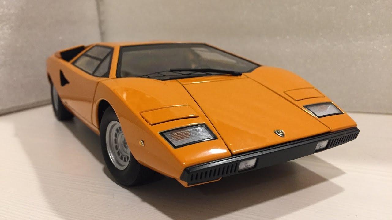 1 18 Autoart Lamborghini Countach Lp400 Youtube