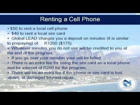 Internet & Cell Phones - LEAD Cape Town