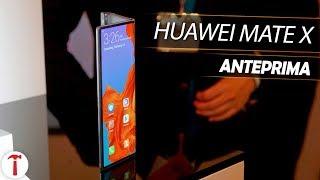MATE X, il primo smartphone pieghevole Huawei