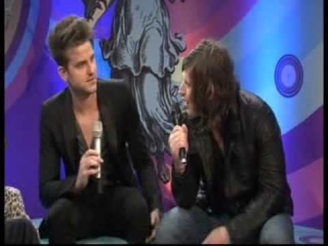 Jared & Matthew of The Kings of Leon Interview at the Isle of Wight Festival 2011